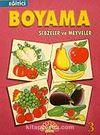 Eğitici Boyama 3 Sebzeler ve Meyveler
