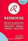 İngilizce-Türkçe/Türkçe-İngilizce Redhouse Büyük Elsözlüğü (kırmızı-açık mavi) (kod:R007)- (Genişletilmiş baskı)