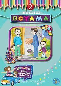 Eğitici Boyama-2 / Jambu ile Narçi Güzel Davranışlar Öğreniyor