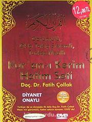 Kur'an-ı Kerim Hatim Seti (Cd) & Görüntülü, Okla Takip Sistemli, Türkçe Mealli