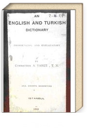 English and Turkish Dictionary (2-H-21)
