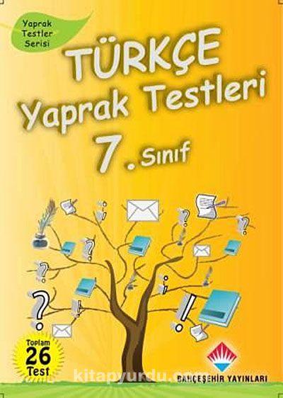 Türkçe Yaprak Testleri 7. Sınıf38 Test