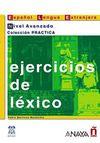 Ejercicios de Lexico - Nivel Avanzado (İspanyolca Kelime Bilgisi - İleri Seviye)