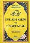(Plastik Kapaklı Fermuarlı) Kur'an-ı Kerim ve Türkçe Meali / Elmalılı Hamdi Yazır
