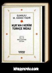 Kur'an-ı Kerim Türkçe Meali (İthal kağıt Ciltsiz Cep Boy)