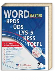 Word Master Sınav Hazırlık Kılavuzu & KPDS-ÜDS-LYS-5-KPSS-TOEFL (Cd Ekli)