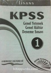 KPSS Genel Yetenek-Genel Kültür Deneme Sınavı 10 Deneme