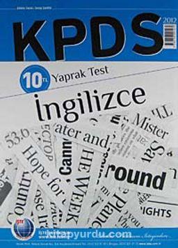 2012 KPDS İngilizce Yaprak Test