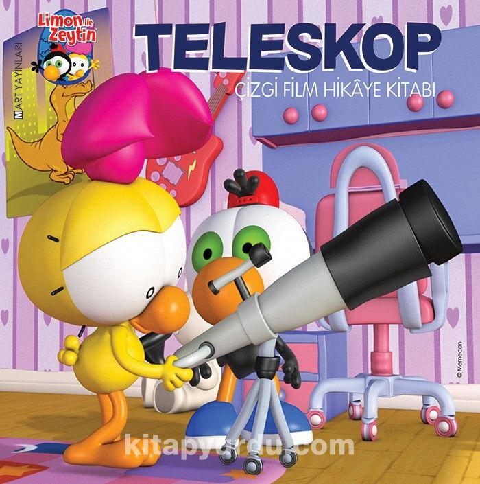 Limon ile Zeytin / Teleskop(Çizgi Film Hikaye Kitabı) - Salih Memecan pdf epub