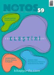 Notos Öykü İki Aylık Edebiyat Dergisi Ağustos-Eylül Sayı:59