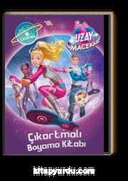 Barbie Uzay Macerası Çıkartmalı Boyama