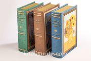 Ressamlar Kutu Seti (Kitap Şeklinde Ahşap Hediye Kutular)