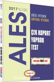 2017 %100 ALES Çek Kopart Yaprak Test