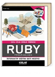 Ruby Programlama & Oku, İzle, Dinle, Öğren!