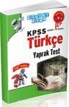KPSS Genel Yetenek Türkçe Yaprak Test