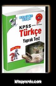 2016 KPSS Genel Yetenek Türkçe Yaprak Test