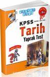 KPSS Genel Kültür Tarih Yaprak Test