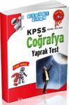 2016 KPSS Genel Kültür Coğrafya Yaprak Test