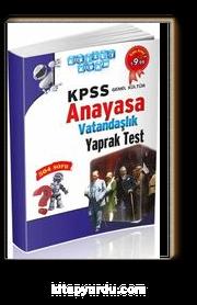 2016 KPSS Genel Kültür Anayasa Vatandaşlık Yaprak Test