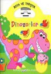 Boya ve Yapıştır Dinozorlar - Sarı