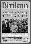 Birikim / Sayı: 219 Yıl: 2007 / Aylık Sosyalist Kültür Dergisi