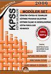 KPSS Eğitim Bilimleri Modüler Set 2009