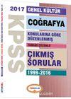 2017 KPSS Genel Kültür Coğrafya Konularına Göre Düzenlenmiş Tamamı Çözümlü Çıkmış Sorular 1999-2016