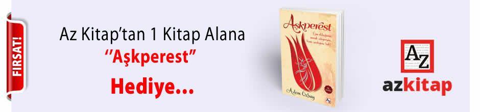 Az Kitap'tan 1 Kitap Alana ''Aşkperest'' Hediye...