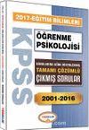 2017 KPSS Eğitim Bilimleri Öğrenme Psikolojisi Konularına Göre Düzenlenmiş Tamamı Çözümlü Çıkmış Sorular 2001-2016