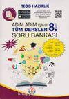 8. Sınıf TEOG Hazırlık Adım Adım Tüm Dersler Soru Bankası