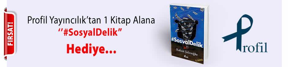 Profil Yayıncılık'tan 1 Kitap Alana ''#SosyalDelik'' Kitabı Hediye...