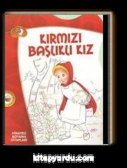 Kırmızı Başlıklı Kız Hikayeli Boyama Kitapları Meltem Bilir