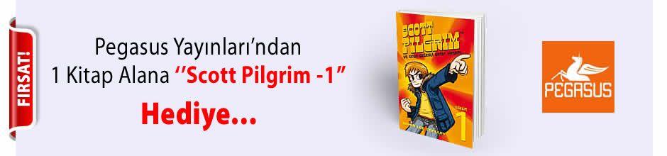 Pegasus Yayınları'ndan 1 Kitap Alana ''Scott Pilgrim -1'' Kitabı Hediye...