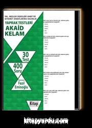 İHL Meslek Dersleri-DHBT ve Diyanet Sınavlarına Hazırlık Yaprak Testleri Akaid-Kelam