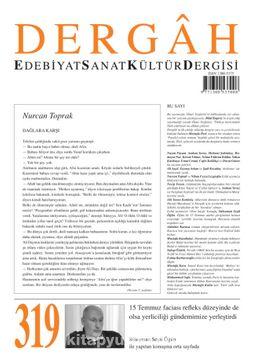 Dergah Edebiyat Sanat Kültür Dergisi Sayı 319 Eylül 2016