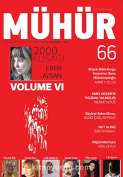 Mühür İki Aylık Şiir ve Edebiyat Dergisi Yıl:9 Sayı:66 Eylül-Ekim 2016