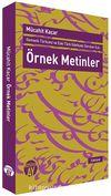 Örnek Metinler & Osmanlı Türkçesi ve Eski Türk Edebiyatı Dersleri İçin