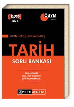 2014 KPSS Tarih Soru Bankası (Hakan Özateş,Hülya Özateş)