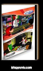 Un quaderno e due matite -  Disegno e coloro (İtalyanca Okuma Kitabı 6-11 yaş) Temel Seviye (A1)
