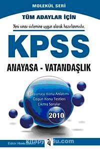 2010 KPSS Anayasa Vatandaşlık Konu Anlatımlı Molekül Seri -  pdf epub
