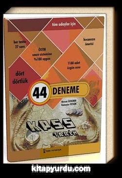 2014 KPSS Tarih 44 Deneme