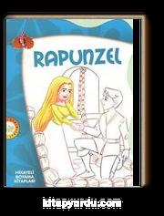 Rapunzel Hikayeli Boyama Kitapları Meltem Bilir çimen