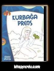 Kurbağa Prens Hikayeli Boyama Kitapları Meltem Bilir çimen