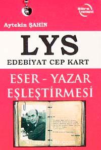 LYS Edebiyat Cep Kart Eser-Yazar Eşleştirmesi