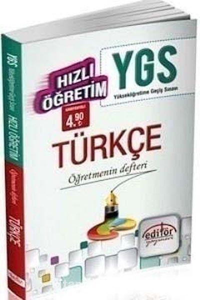 YGS Hızlı Öğretim Türkçe - Öğretmenin Defteri - Komisyon pdf epub