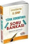 9. Sınıf Türk Edebiyatı Soru Bankası Öğretmenin Kaleminden
