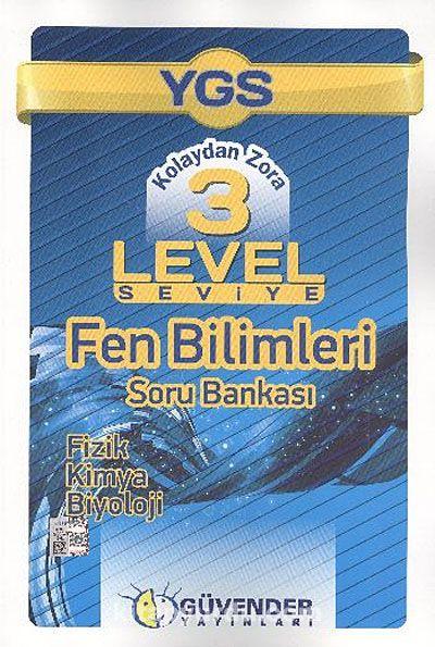 YGS Kolaydan Zora 3 Level Seviye Fen Bilimleri Soru Bankası - Kollektif pdf epub