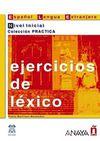 Ejercicios de Lexico - Nivel Inicial (İspanyolca Kelime Bilgisi - Temel Seviye)