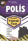 2014 Polis Meslek Yüksekokulları Sınavları Çek Kopar Yaprak Test