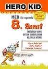 Hero Kid 8.Sınıf İngilizce Dersi Ortak Sınavlarına Hazırlık Kitabı